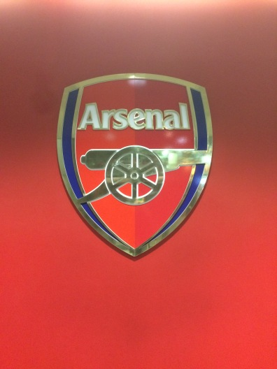 Lo stemma dell'Arsenal Football Club