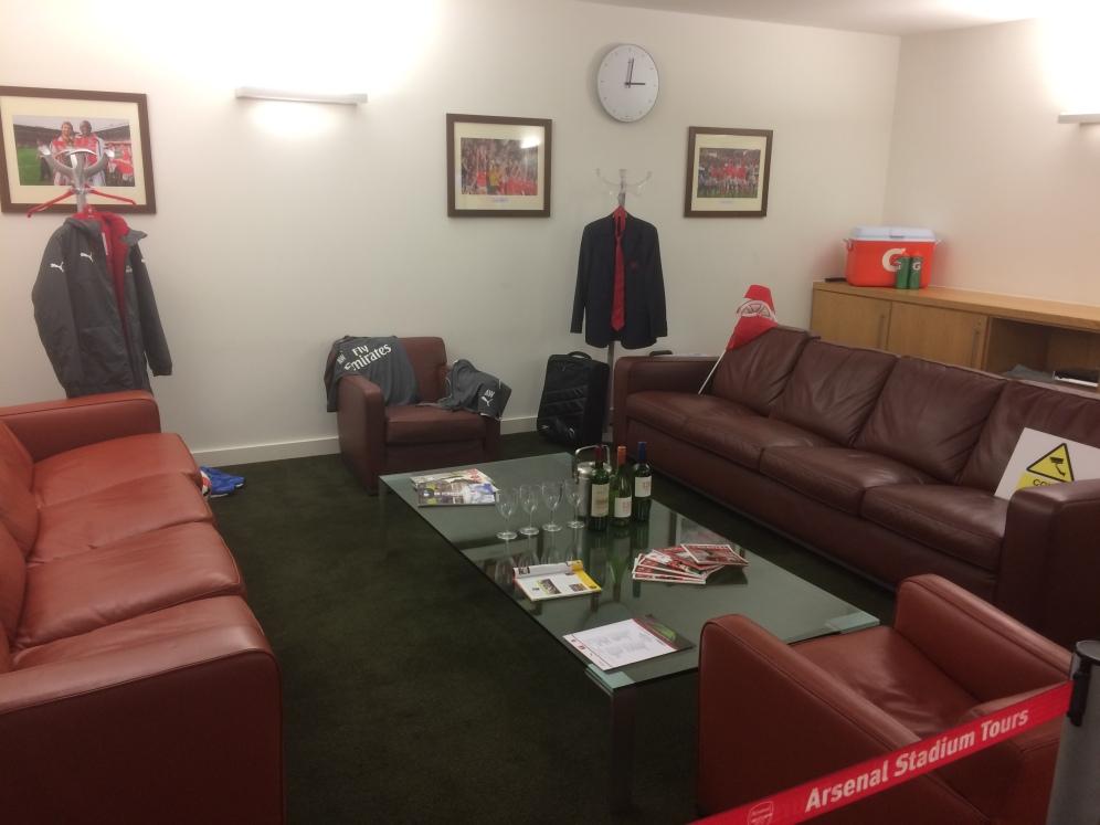 Ufficio di Arséne Wenger