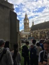 Big Ben dall'abbazia