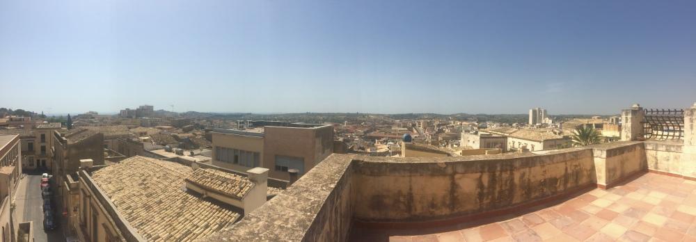 Panorama Val di Noto da Santa Chiara