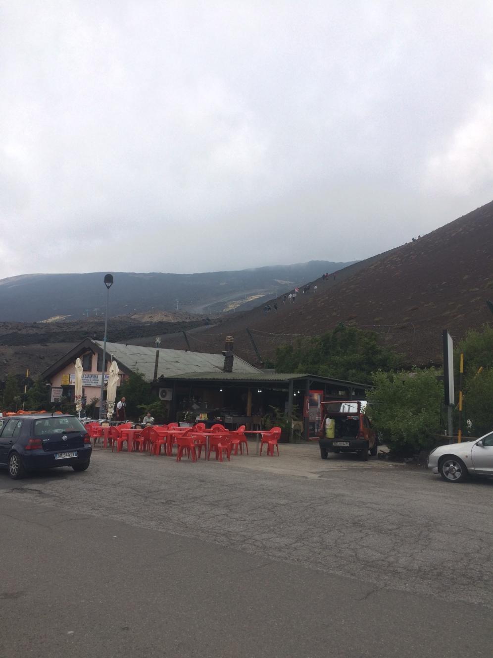 Paesaggio attorno all'Etna